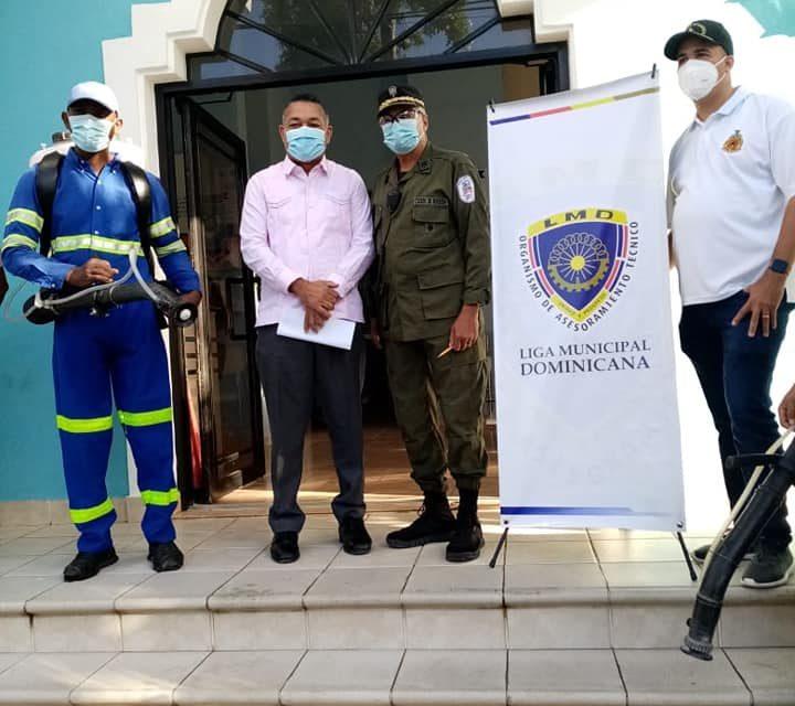 Llega a Boca Chica el programa de desinfección de la Liga Municipal Dominicana