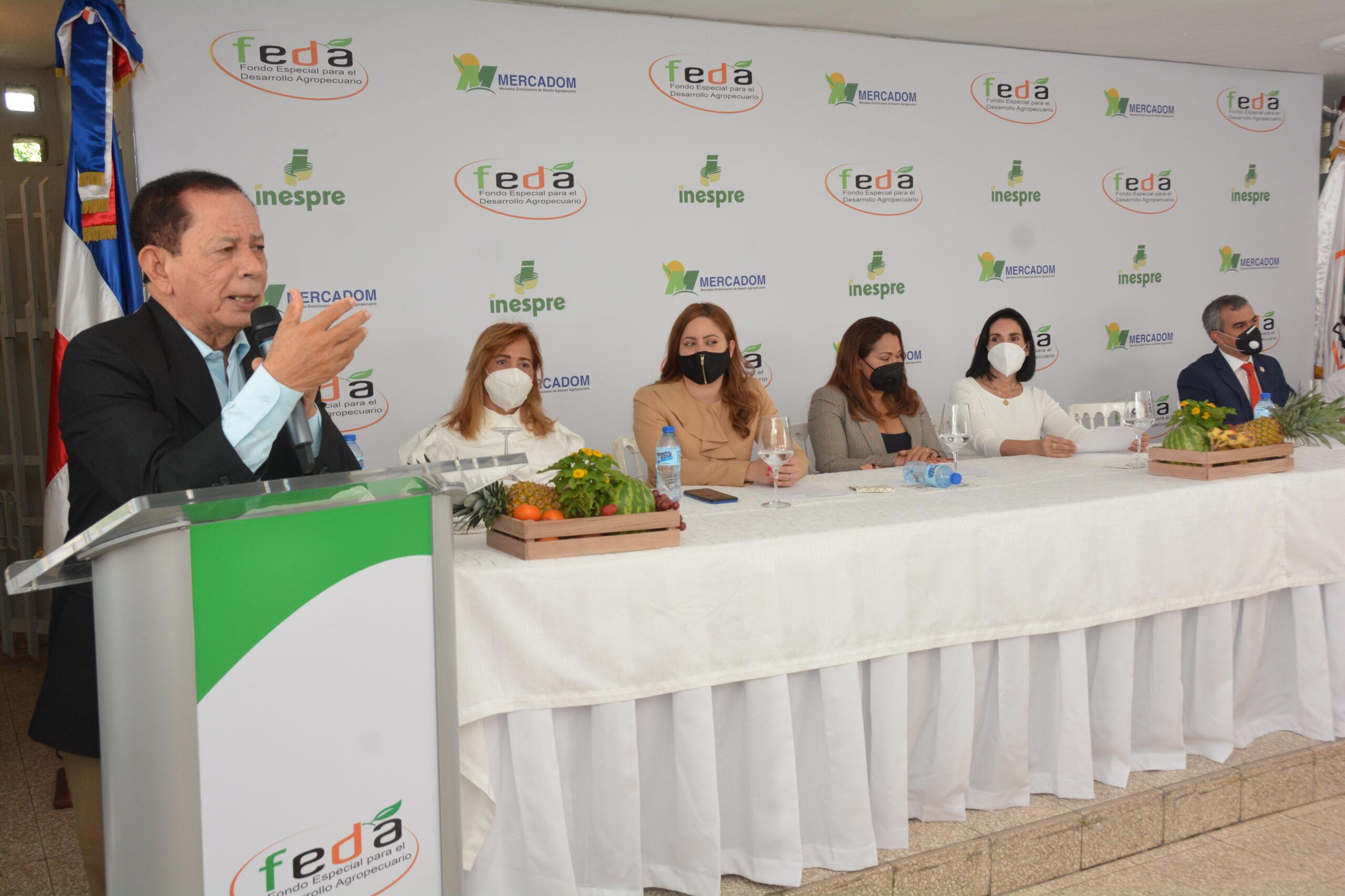 FEDA lanza programa comercialización productos agropecuarios madres solteras