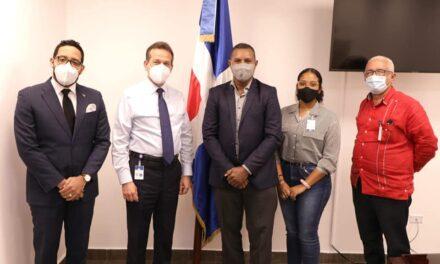 Director de FODEARTE se reúne con ministro de Industria, Comercio y Mipymes