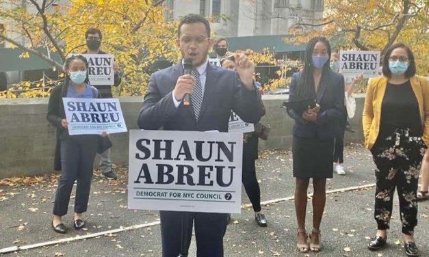 Dominicano Shaun Abreu lanza candidatura para concejal por el distrito 7 Manhattan