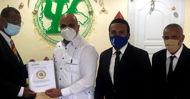 El Colegio Dominicano de Psicólogos recibe la propuesta de Ley de Alguaciles