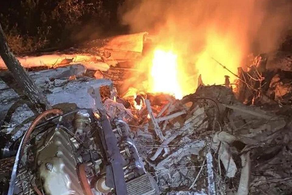 Aeronave cargada de droga se estrella en Pedernales deja saldo de un muerto