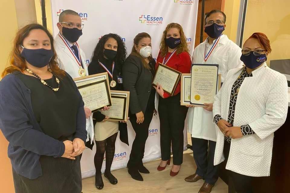 Casa Cultural Dominicana USA reconoce médicos por sus luchas contra COVID-19 en el Bronx