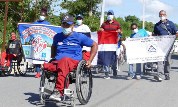 Departamento de Discapacidad de la alcaldía de Boca Chica concluye Semana de la Discapacidad