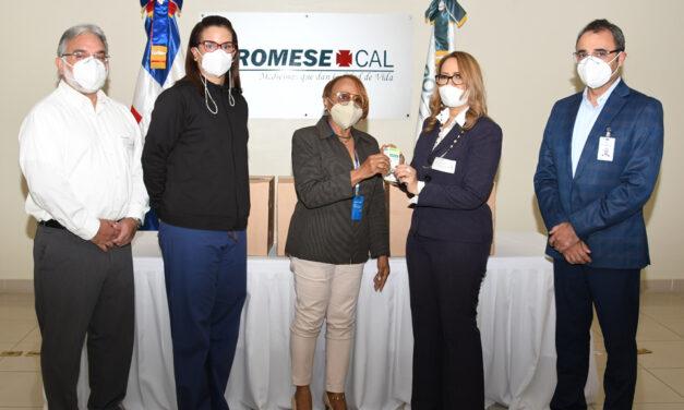Promese/Cal entregó medicamentos a Sociedad de Neumología