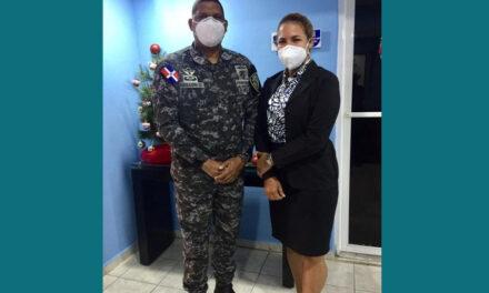 Asociación de abogados de Los Alcarrizos y Policía Nacional estrechan relación institucional