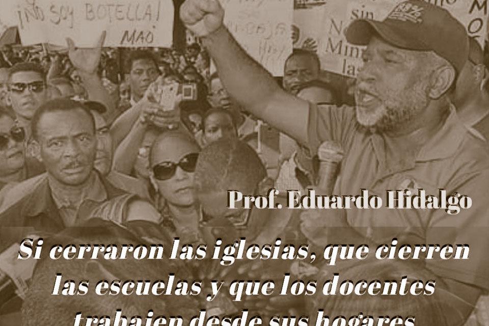 Seccional ADP municipio Los Alcarrizos dice docentes cumplan horarios desde sus hogares