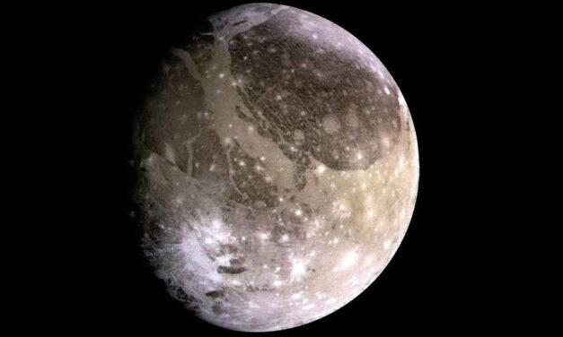 NASA detecta por primera vez una señal de radio procedente de Ganimedes, una luna de Júpiter