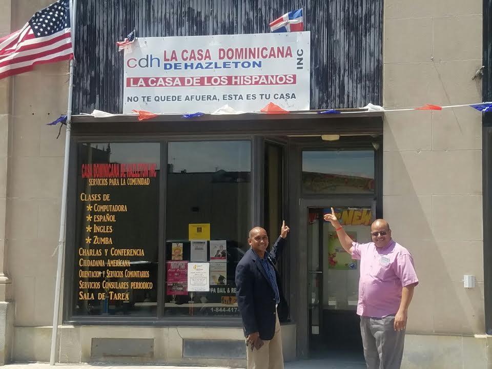 Operativo consular en la ciudad de Hazleton