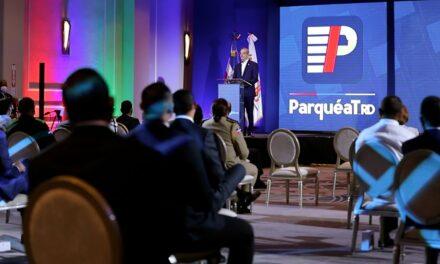 Presidente anuncia ParqueatRD: un Plan Nacional de Parqueo: orden y seguridad en el tráfico