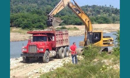 Con nombramiento de Geraldo Díaz, Gobierno da rienda suelta a la extracción de materiales