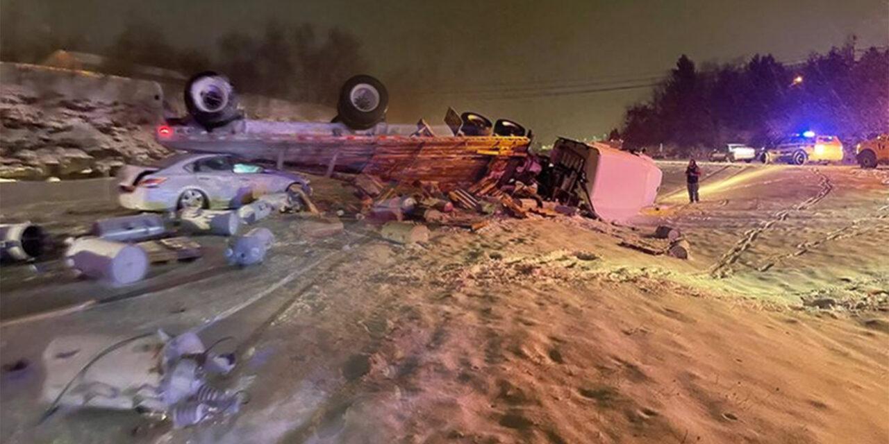 Accidente en Hazleton, Pensilvania