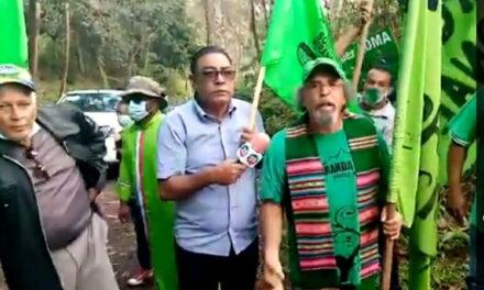 Vuelve lucha en defensa de Loma Miranda