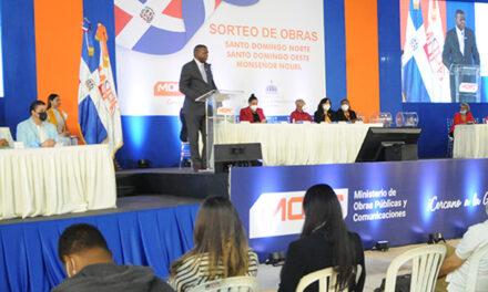 MOPC sortea obras por RD$183 millones