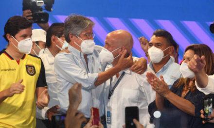 Lasso gana las elecciones en Ecuador