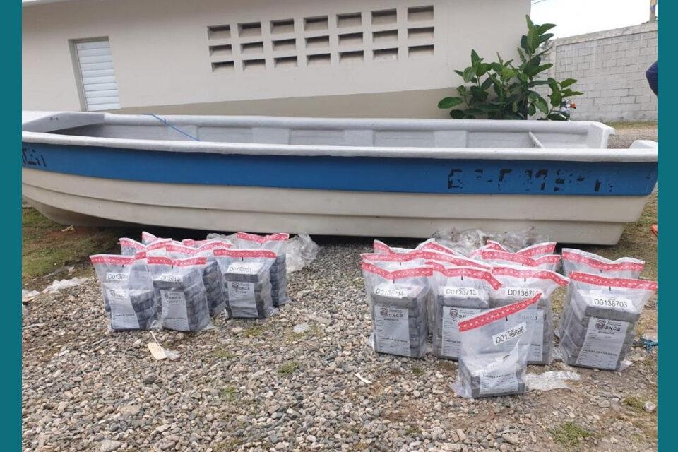 DNCD ocupa 118.9 kilos de cocaína