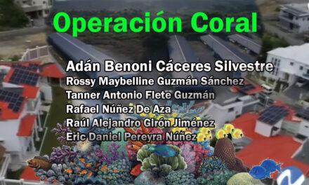Principales implicados en Operación Coral