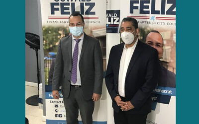 Oswald Feliz: primer concejal dominicano en El Bronx