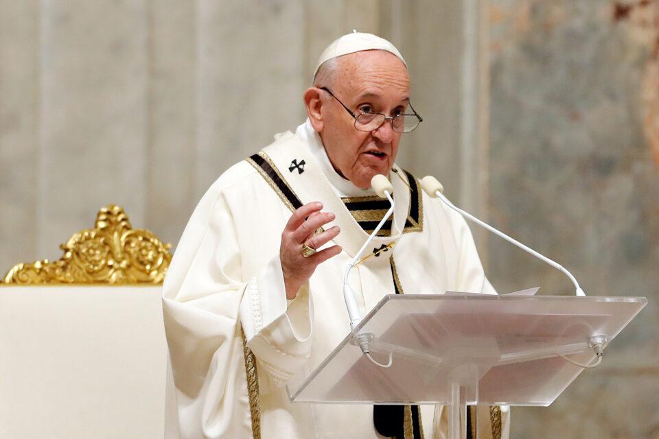 """Papa Francisco: """"Jesús no es un personaje obsoleto"""""""