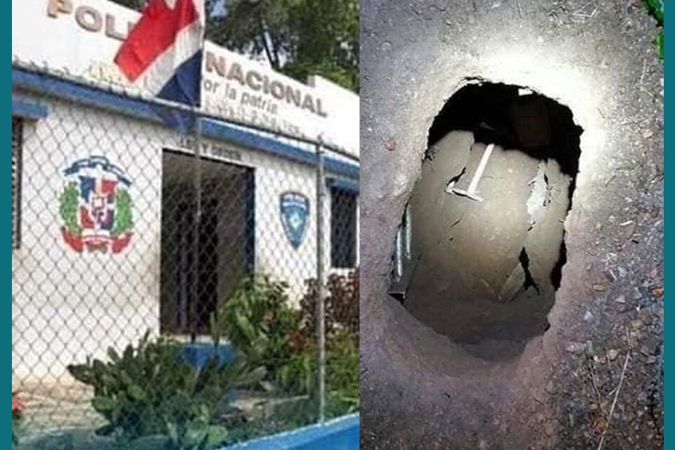 Se escapan presos del cuartel de Haina