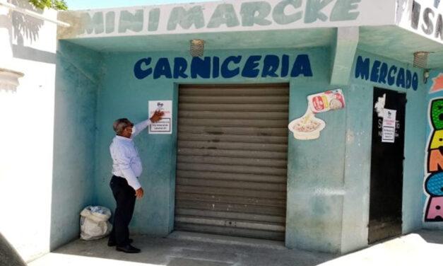 Cierran carnicería en Los Frailes II
