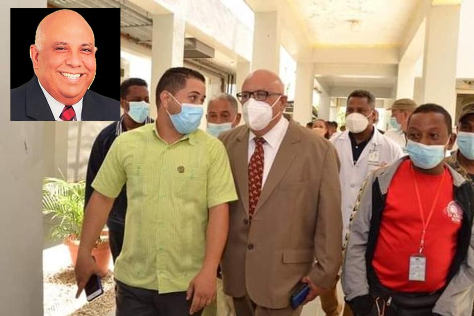 Cambian director del hospital Calventi