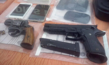 A prisión raso PN vendía armas retenidas como evidencias