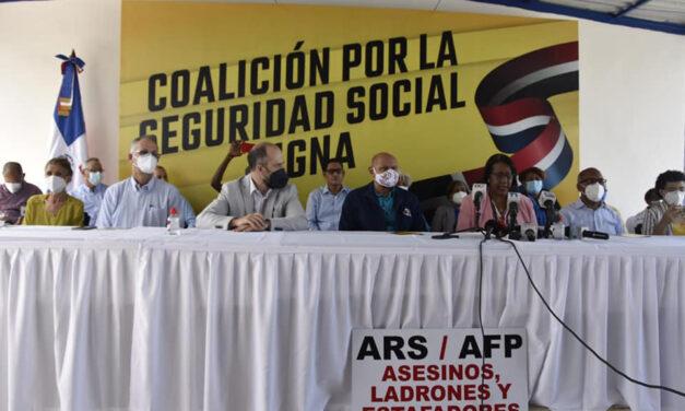 Crean la Coalición Nacional por una Seguridad Social Digna