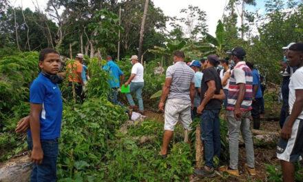 Hallan cadáver de un hombre en un conuco en Bayaguana