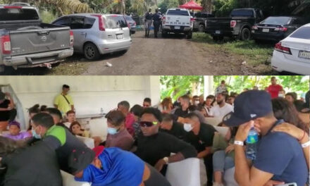 Apresan 123 personas en fiesta clandestina
