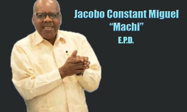Fallece el comunicador Machi Constant
