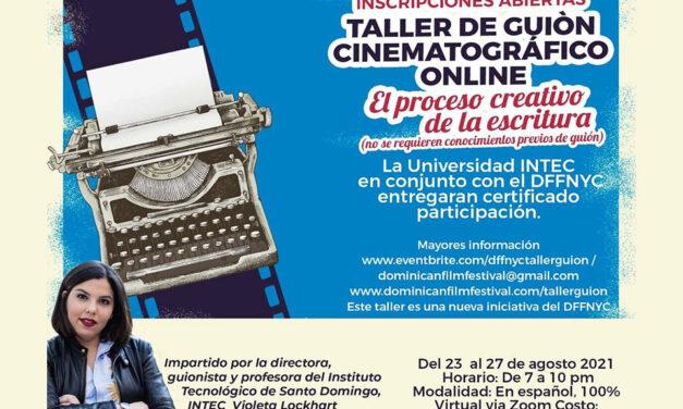 Festival de Cine Dominicano NY anuncia taller de guion cinematográfico